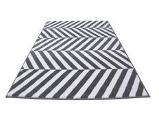 Moderní koberec BCF 2079 - šedo-bílý