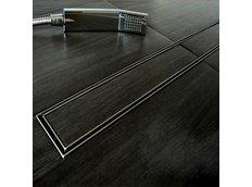 Odtokový sprchový žlab HOME steel - pro vložení dlažby