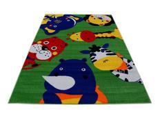 Dětský koberec Safari - zelený
