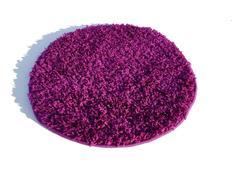 Kulatý koberec SHAGGY SPARTA fialový