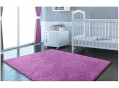 Moderní kusový koberec SHAGGY COLOR - levandulový
