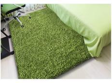 Moderní kusový koberec SHAGGY COLOR - zelený