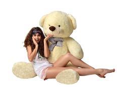 Plyšový medvídek TEDDY - krémový