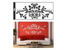 Samolepky na zeď ORNAMENTY color - vzor 5