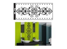 Samolepky na zeď ORNAMENTY color - vzor 24