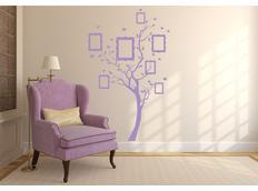 Samolepky na zeď STROM color - vzor 8