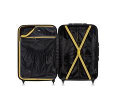 Cestovní kufry SUPERSTAR - černé