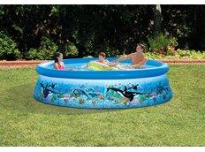 Zahradní nadzeZahradní nadzemní bazén MAX EASY OCEAN 366x76 cm s filtrací