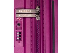 Moderní cestovní kufry DENVER - růžové