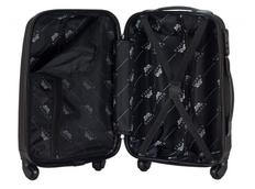 Moderní cestovní kufr BLACK - černý