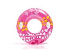 Nafukovací plavecký kruh růžový - 91 cm