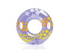 Nafukovací plavecký kruh fialový - 91 cm