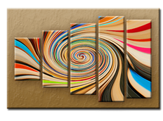 PĚTIDÍLNÝ OBRAZ na plátně COLOUR - vzor 13