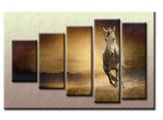 PĚTIDÍLNÝ OBRAZ na plátně HORSE - vzor 44