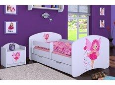 Dětská postel se šuplíkem 180x90cm VÍLA