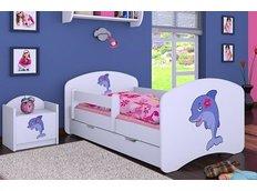 Dětská postel se šuplíkem 180x90cm DELFÍN