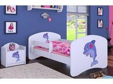 Dětská postel bez šuplíku 160x80cm DELFÍN