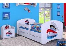 Dětská postel se šuplíkem 180x90cm LODIČKA
