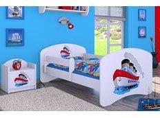 Dětská postel bez šuplíku 160x80cm LODIČKA