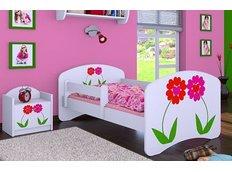 Dětská postel bez šuplíku 160x80cm KYTIČKY