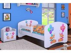 Dětská postel bez šuplíku 160x80cm MEDVÍDCI