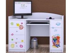 Dětský psací stůl VESELÁ LOKOMOTIVA - TYP 1