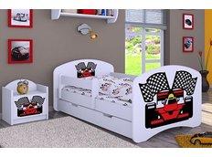 Dětská postel se šuplíkem 180x90cm FERRARI