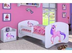 Dětská postel bez šuplíku 160x80cm JEDNOROŽEC