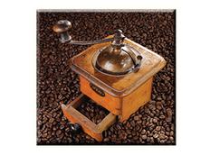 Obraz na plátně 30x30cm COFFEE - vzor 18