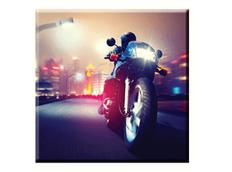Obraz na plátně 30x30cm MOTORBIKE - vzor 46
