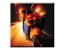 Obraz na plátně 30x30cm FAST MOTORBIKE - vzor 48