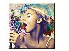Obraz na plátně 30x30cm SING - vzor 54