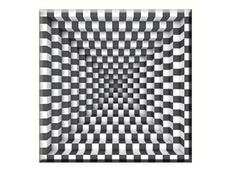 Obraz na plátně 30x30cm OP ART - vzor 67
