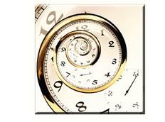 Obraz na plátně 30x30cm CLOCK - vzor 69