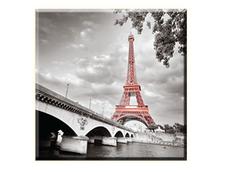Obraz na plátně 30x30cm PARIS - vzor 78