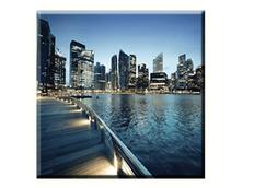 Obraz na plátně 30x30cm CITY - vzor 82