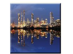 Obraz na plátně 30x30cm NIGHT CITY - vzor 83