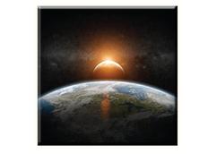 Obraz na plátně 30x30cm EARTH - vzor 85