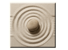 Obraz na plátně 30x30cm STONE - vzor 90