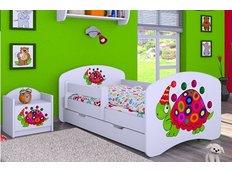Dětská postel se šuplíkem 160x80cm ŽELVIČKA