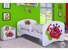 Dětská postel bez šuplíku 160x80cm ŽELVIČKA