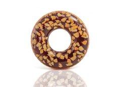 Plavecký kruh Čokoládový donut - 114 cm
