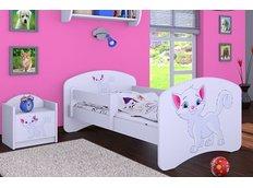 Dětská postel bez šuplíku 180x90cm KOČIČKA