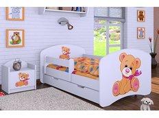 Dětská postel se šuplíkem 160x80cm MÉĎA