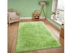 Moderní kusový koberec SHAGGY NOVO - zelený