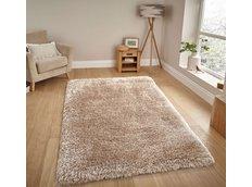 Moderní kusový koberec SHAGGY NOVO - krémový