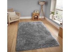 Moderní kusový koberec SHAGGY NOVO - šedý