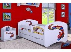 Dětská postel se šuplíkem 180x90cm MAŠINKA