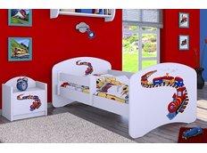 Dětská postel bez šuplíku 180x90cm MAŠINKA