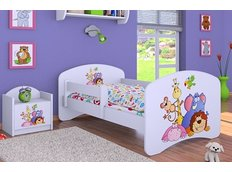 Dětská postel bez šuplíku 160x80cm SAFARI
